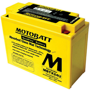 Motobatt MBTX24U 25Ah Battery