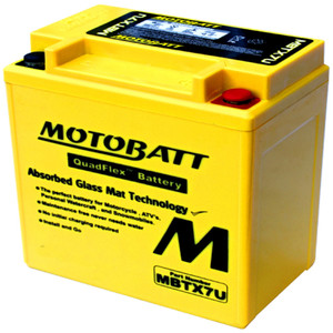 Motobatt MBTX7U 8Ah Battery