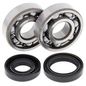 All Balls Crank Shaft Bearing Kit for Kawasaki KX125 88-05