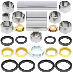 All Balls Shock Swing Arm Linkage Bearing Seal Kit for Yamaha YZ125 YZ250,Others