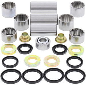 All Balls Shock Swing Arm Linkage Bearing Seal Kit for Husqvarna CR125, Others 27-1146