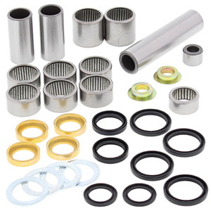 All Balls Shock Swing Arm Linkage Bearing Seal Kit for Yamaha YZ125 YZ250