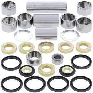 All Balls Shock Swing Arm Linkage Bearing Seal Kit for CR125R CR250R Honda 98-99