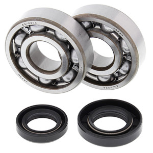 All Balls Crank Bearing and Seal Kit for Honda 24-1002