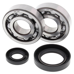 All Balls Crank Shaft Bearing Kit for CR250R Honda 1992-2007