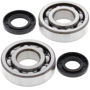 All Balls Crank Shaft Bearing Kit for Kawasaki KDX250 91-94, KX250 87-01