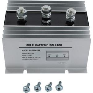 90 AMP Dual Multi 2 Two Battery Isolator- Marine, Rv, Ems, 626-01001
