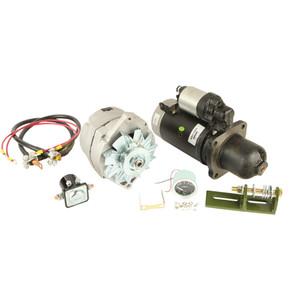 Alternator Starter Conversion John Deere Tractor 3010 3020 4010 4020
