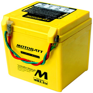 Motobatt MB2.5U 2.5Ah Battery
