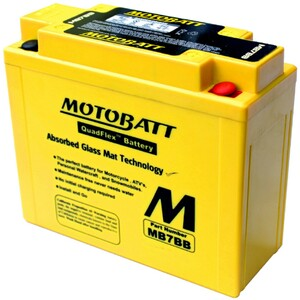 Motobatt MB7BB 9Ah Battery