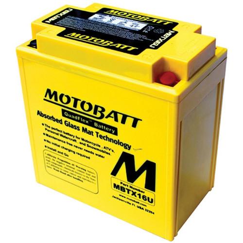 Motobatt MBTX16U 19Ah Battery
