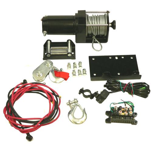2500 lb pound Complete ATV UTV Winch Motor Assembly Kit, WIN0013 New