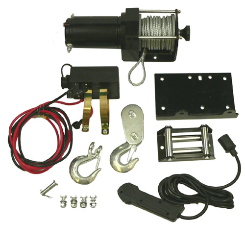 2500 lb ATV Winch Motor Assembly Kit With Removable Toggle Switch, WIN0014 New