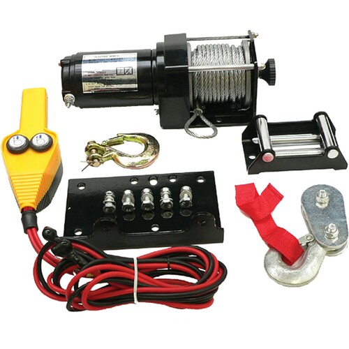 3000 lb ATV Winch Motor Kit With Weather Resistant Toggle Switch, 431-01011 New