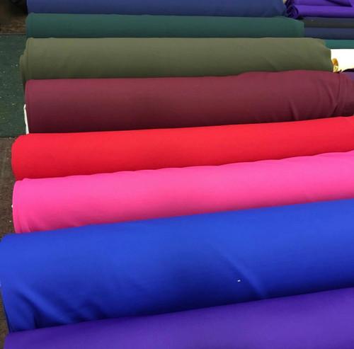 """""""Scuba"""" Knit Fabric 60"""" wide Poly Lycra Blend Medium Weight"""