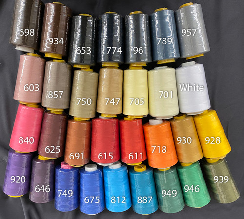 Serger Cone Thread Colors