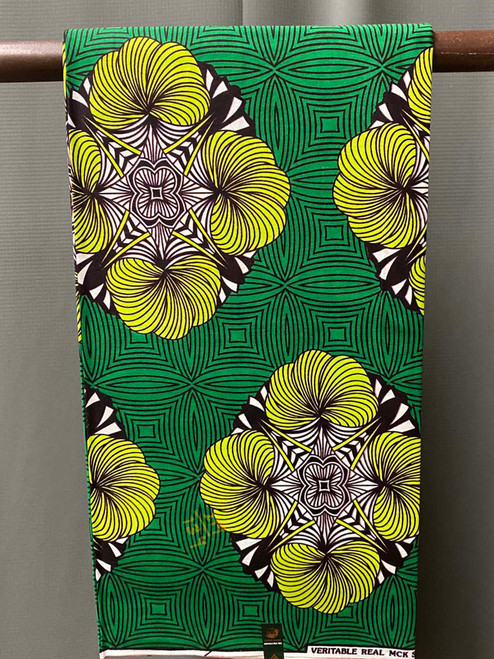 African Print #29 Emerald