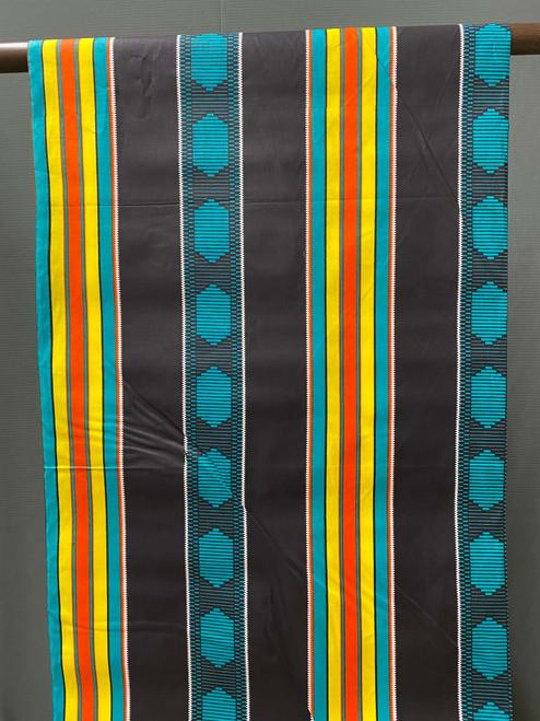African Print #R9 Stripes