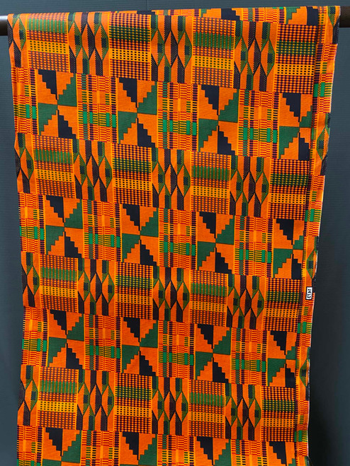 African Print #R16 Kente Bold