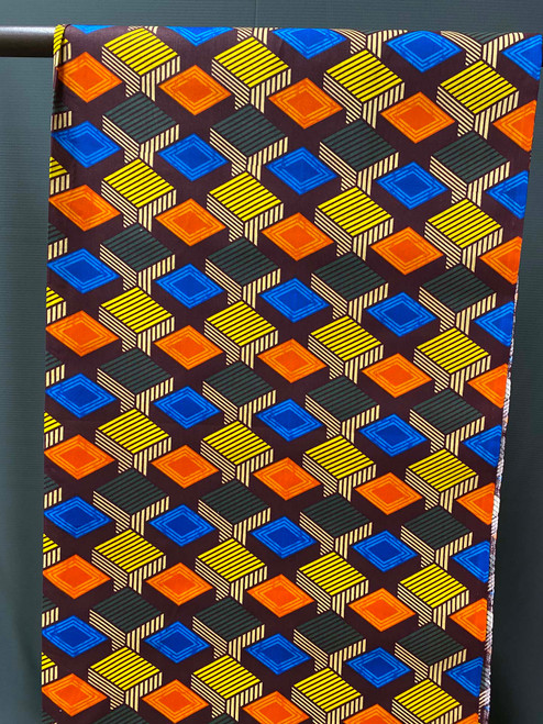 African Print #R18 Cubes