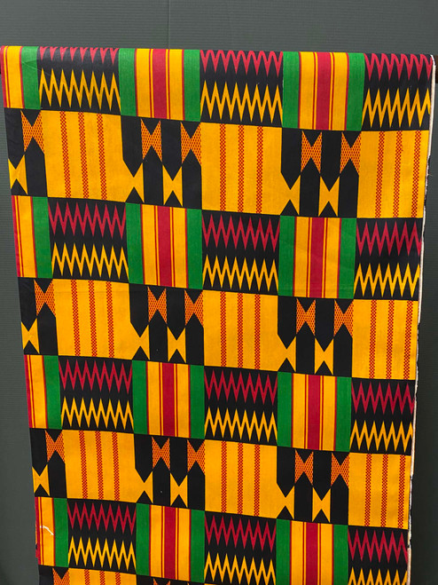 African Print #R22 Kente Big Bad