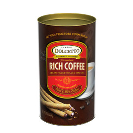 Dolcetto Wafer Rolls - Coffee 12oz