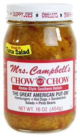 Golding Farms Mrs. Campbell's Hot Chow Chow 16 oz