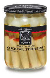 Sable & Rosenfeld Tipsy Cocktail Stirrers - Sweet & Spicy (Corn) 16 oz