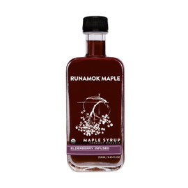 Runamok Elderberry Infused Maple Syrup 250ml