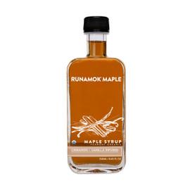 Runamok Cinnamon & Vanilla Infused Maple Syrup 250ml