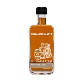Runamok Rum Barrel-Aged Maple Syrup 250ml