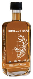 Runamok Fresh Ginger Root Infused Maple Syrup 250ml