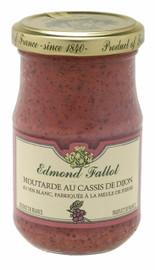 Fallot Dijon with Blackcurrant Mustard 7oz