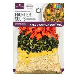 Frontier Soups 'New' West Coast Kale & Quinoa Soup 4.5oz