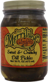 Merrilily Gardens Sweet and Crunchy Pickles 12 oz