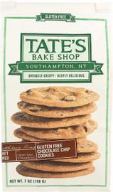 Tate's Bake Shop Gluten Free Chocolate Chip Cookies White Bag 7oz