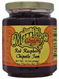 Merrilily Gardens Red Raspberry Chipotle Jam 12oz