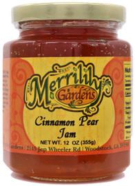 Merrilily Gardens Cinnamon Pear Jam 12 oz
