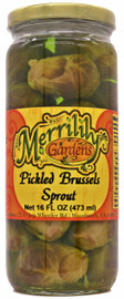 Merrilily Gardens Pickled Brussel sprouts 16oz