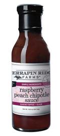 Terrapin Ridge Raspberry Peach Chipotle Sauce 15oz