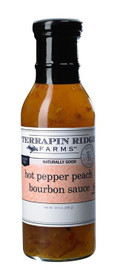 Terrapin Ridge Hot Pepper Peach Bourbon Sauce 12oz