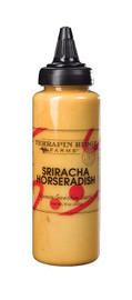 Terrapin Ridge Sriracha Horseradish Garnishing Squeeze 9oz
