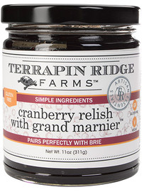 Terrapin Ridge Cranberry Relish w/ Grand Marnier 11oz