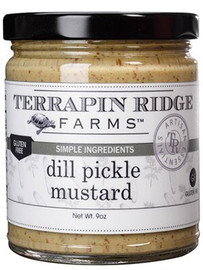 Terrapin Ridge Dill Pickle Mustard 8.5oz