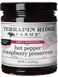 Terrapin Ridge Hot Pepper Raspberry Preserves 11oz