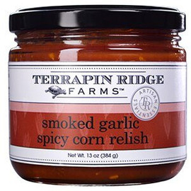 Terrapin Ridge Smoky Garlic Spicy Corn Relish 11.5oz
