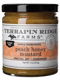 Terrapin Ridge Peach Honey Mustard 11oz
