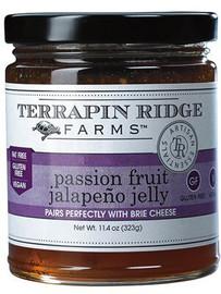 Terrapin Ridge Passion Fruit Jalapeno Jelly 11oz