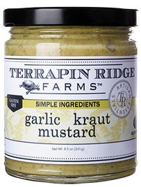 Terrapin Ridge Garlic Kraut Mustard 8.5oz