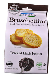 Asturi Cracker Black Pepper Bruschettini4.23oz